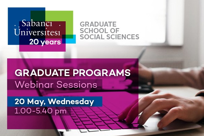May 20 Graduate Programs Webinar Sessions